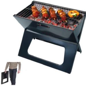 Swisscook Barbecue portable pliable - Acier à charbon