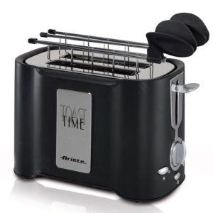 Ariete Grille pain - noir - 500W - tranches éjectables