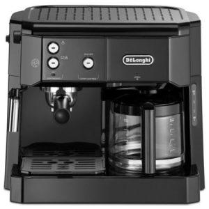 DELONGHI MACHINE Combiné- Expresso Cafetière - Noir - 15 bars - Garantie 1 an