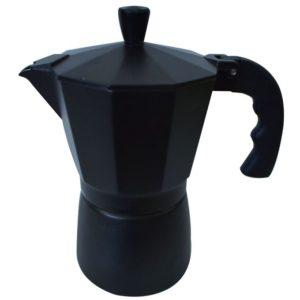Cafetière 6 tasse - Café express - Noir Mat