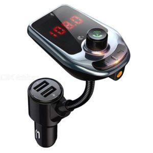 D5 Emetteur FM de Voiture - Bluetooth - lecteur MP3