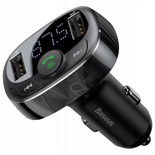 Car MP3, - Transmetteur FM Bluetooth et chargeur rapide