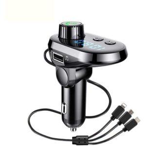 Emetteur FM - Bluetooth & Lecteur MP3 & Chargeur
