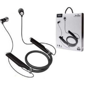 V91 Bluetooth Écouteurs Sport - Support carte mémoire MicroSD