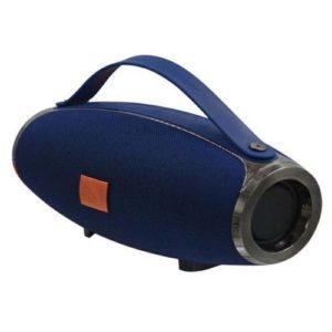 E16 : Speaker bluetooth + power bank - Grand model 26 cm - Bleu