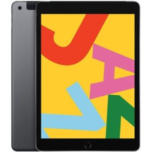 "Apple iPad 10.2"" Wi-Fi + Cellular 128GB - Gris sidéral"
