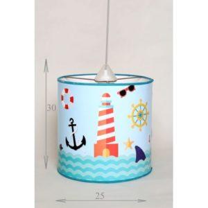 Chtioui Design suspension thème marine