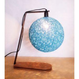 Armin Home Lampe de Bureau - Bleu