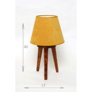 Chtioui Design lampadaire scandinave trépied mini chene claire