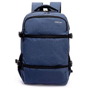 Sac à dos - Port ( Écouteur & USB) 18,5 pouces - bleu jean