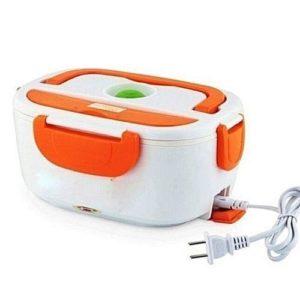 Boîte Chauffante Lunch Box Électrique - 1.5L- 40W - Orange