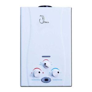 Chauffe Bain COALA 6 Litres Gaz Bouteille Blanc