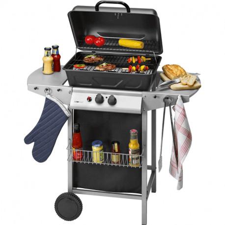 Barbecue Grill à Gaz CLATRONIC GG 3590 5500W – Noir