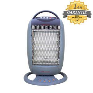 Home Électronique Chauffage Électrique - 1200W - TCHH12BS - Gris - Garantie 1 an