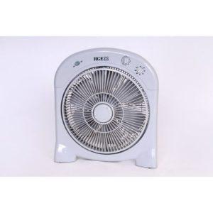 Hge Ventilateur - Carré - V60 - Blanc - Garantie 1 An