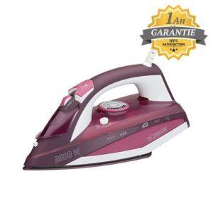Bomann Fer A Repasser Vapeur - 2600W - Semelle céramique - DB3705 - Garantie 1 an