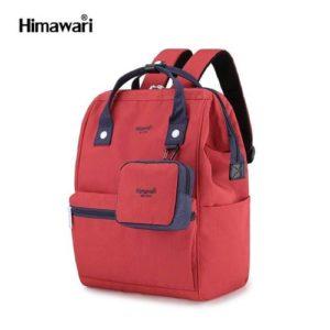 Himawari Sac à dos pour ordinateur portable et éducation 2 en 1