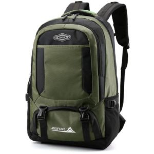 Sac à dos scolaire & camping - 35L - Jdxfeng - Vert