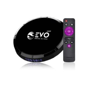 Android Tv Box Box andoird EVO prime - 4 Go RAM - 128 Go ROM - Noir