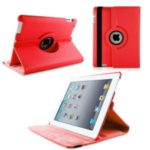 Etui iPad Air 2 360° - 9,7 pouces - Rouge