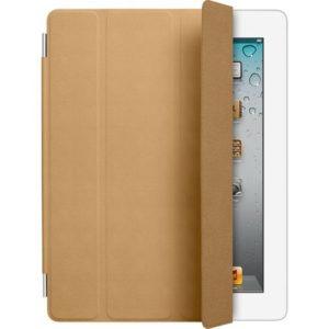 Apple Smart cover cuir - Marron - pour iPad 2 - 3 - 4