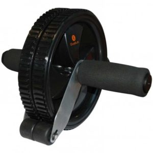 Appareil abdominaux SVELTUS 2601 AB Wheel Noir