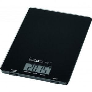 Balance de Cuisine CLATRONIC 5 kg - Noir